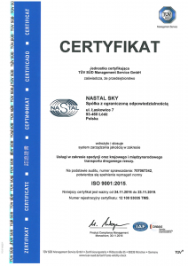 ISO 9001:2015 PL